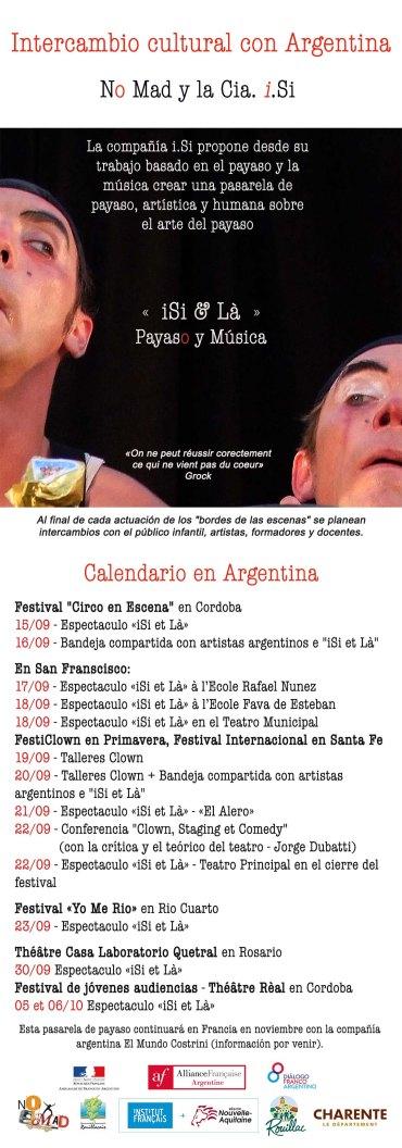 Intercambio cultural con Argentina